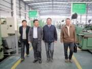 淮安市农机局领导到清浦区调研农机企业
