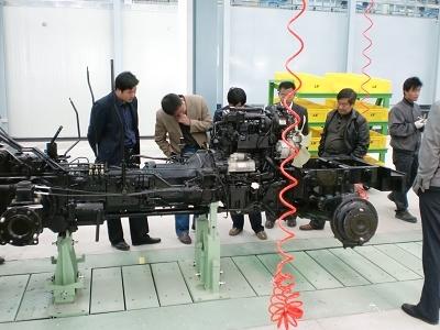 韩国ls拖拉机工厂在青岛市竣工