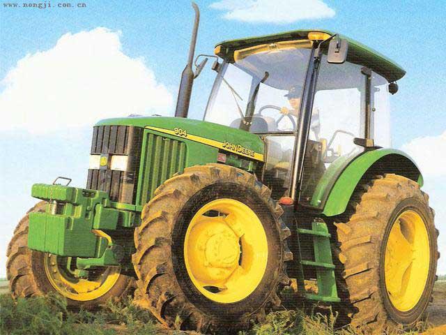 约翰迪尔904拖拉机图片 高清图片