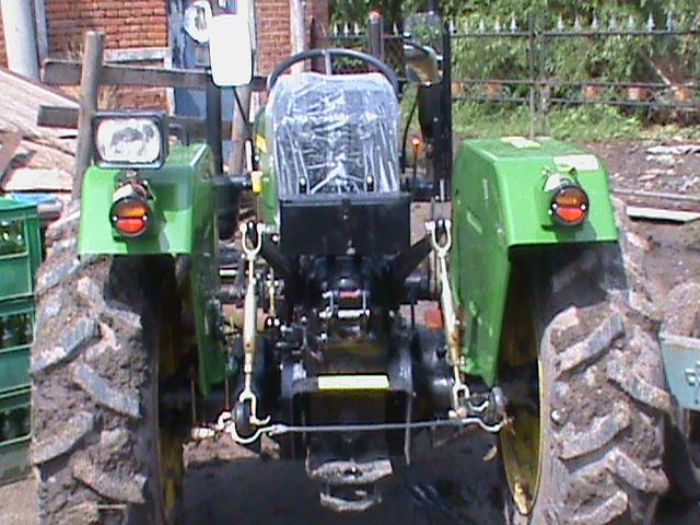 出售两台约翰迪尔320新型拖拉机 黑龙江绥化市二 二手约翰高清图片