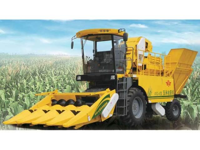 常发/山东五征4YZ/4四行自走式玉米收获机主要技术参数表