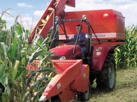 山东五征4yw-3背负式玉米联合收割机图片