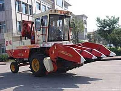 巨明4YZ-3玉米收割机