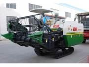 巨明4LZ-3履带式全喂入水稻联合收割机