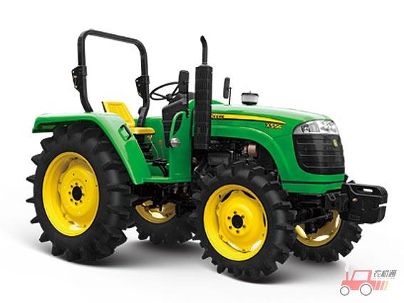 约翰迪尔x554四轮驱动拖拉机 新疆农机有限责任公司喀什经