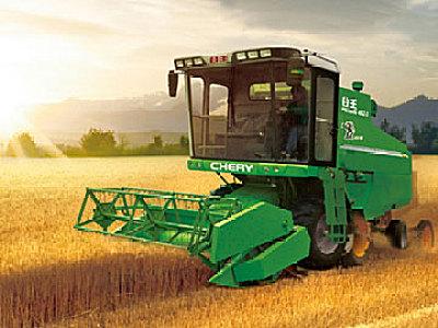 奇瑞4LZ-3自走轮式谷物联合收割机