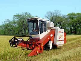 福田雷沃谷神RG25(4LZ-2.5G)履带水稻收割机