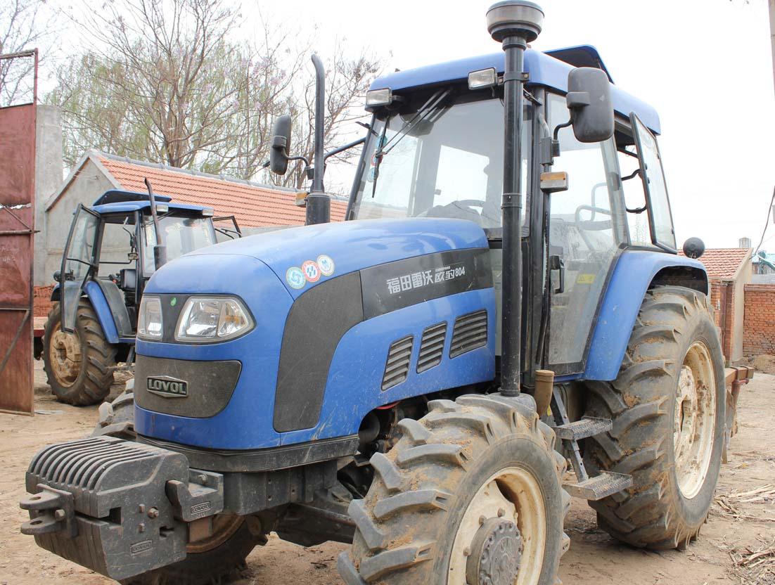 """福田雷沃汽车_出售自用""""福田雷沃欧豹804""""轮式拖拉机,赠送耕地机械。_山东 ..."""