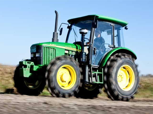 约翰迪尔 推出新产品 5e系列 904 拖拉机 农机通 高清图片