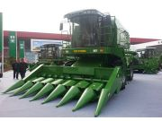 奇瑞谷王8000A联合收割机盛装亮相国际农机展