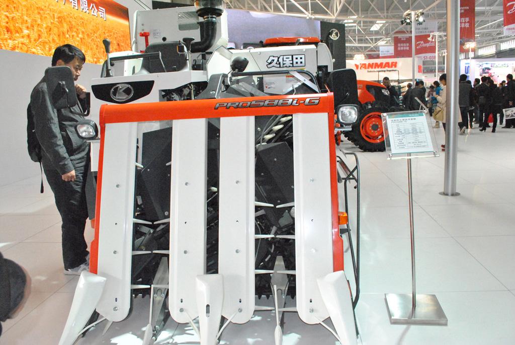 久保田pro588i-g收割机