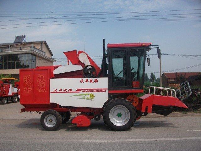 玉米/手机版:河北沃丰4YH/4YH型玉米收获机