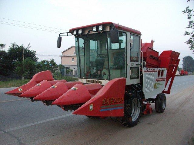 河北/手机版:河北沃丰4YZB/4型玉米收获机