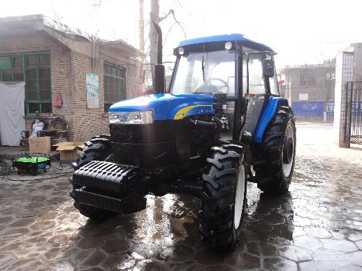 上海纽荷兰snh1004拖拉机 高清图片
