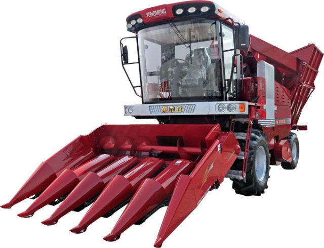玉米 系列/勇猛机械4YZ/4YZ系列自走式玉米收获机主要技术参数表