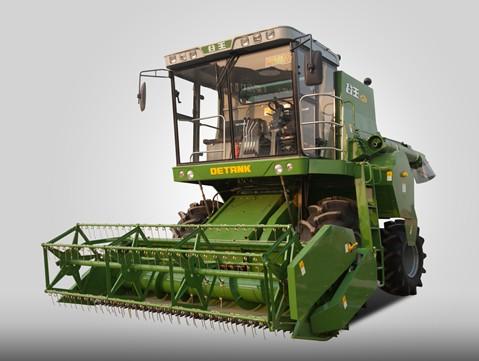 奇瑞重工谷王小麦收割机