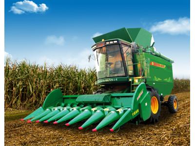 山东宁联4YZ-6型自走式玉米籽粒收获机