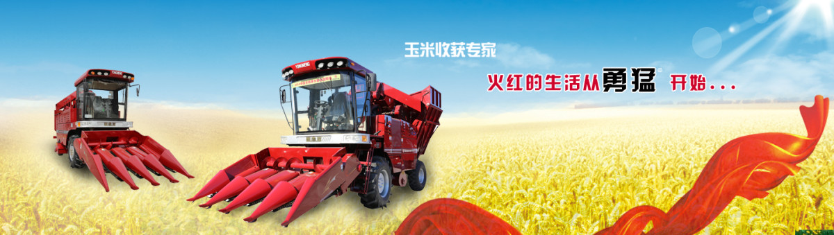 勇猛4YZ-4H(SQ)智能超豪华型自走式玉米收获机