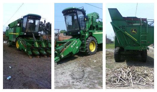 出售2012年约翰迪尔y210玉米收割机