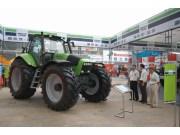 道依茨-法尔拖拉机首次参展黑龙江国际农机博览会