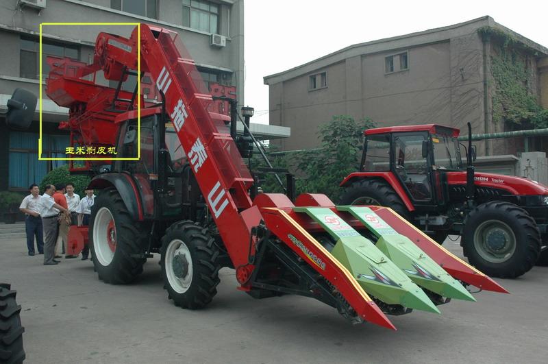 新款 东北地区/山拖农装推出新款玉米收获机