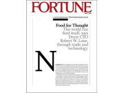 迪尔公司董事会主席兼CEO罗伯特•莱恩接受《财富》杂志采访