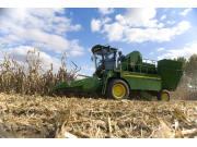 玉米收获的理想选择——约翰迪尔6488玉米果穗联合收割机