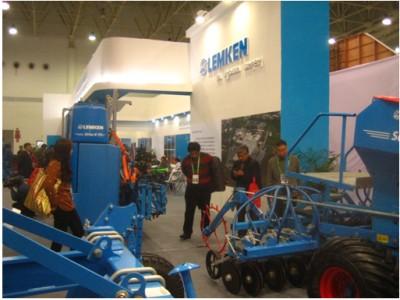 德国雷肯农机蓝色畅想中国国际农业机械展览会