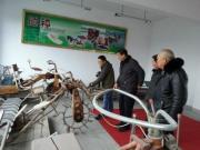 江苏南通派员来姚参观中国农机博物馆