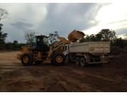 雷沃装载机助力安哥拉最长铁路修建