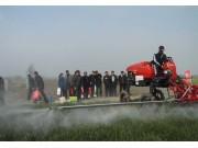 安徽省宿州市举办植保机械演示会