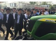 全国水稻农机在湘大比武 中联重科独领风骚