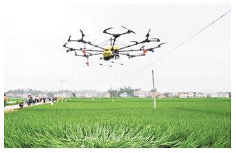 农用无人机 开启农机新业态