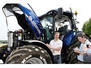 纽荷兰推出甲烷动力拖拉机