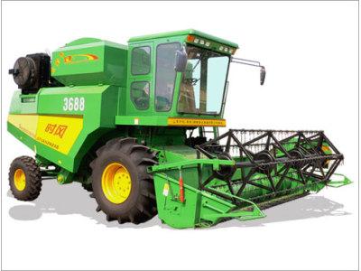 时风3688小麦大豆联合收获机