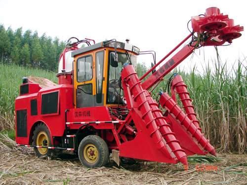 柳州汉升HSM1000型轮式甘蔗联合收割机