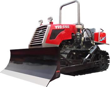 东方红-c502履带式拖拉机