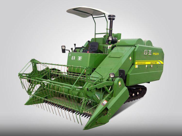 5q)水稻联合收割机    ●优化链罩盒结构设计,有效减缓链条磨损,延长
