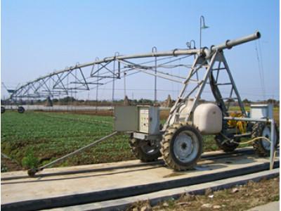 现代农装(中极速分分彩)DPP系列电动平移式喷灌机