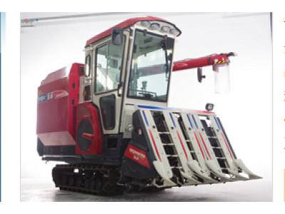 东禾C805GT/GCT自走履带式谷物半喂入联合收割机
