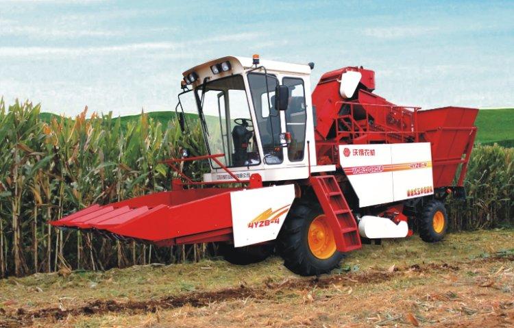 沃得裕龙4yzb-4(ch530)玉米收割机图片