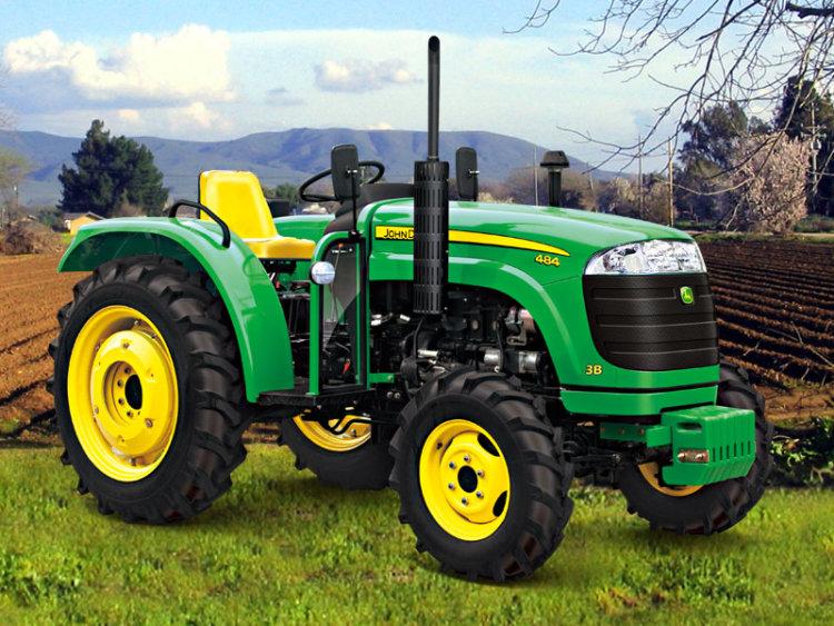 产品介绍 产品名称:约翰迪尔484轮式拖拉机 生产厂家:约翰迪尔(宁波)