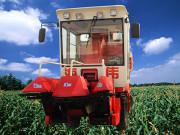 4YZP-2自走式摘穗还田剥皮型玉米收割机