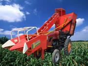 加长小型玉米收割机