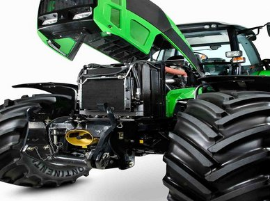 双辽市华源农机汽贸有限责任公司 拖拉机  型号 df2204 发动机 道依茨图片