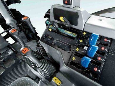 拖拉机  变速箱采用同步器换挡