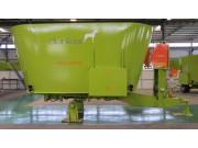 Dunker STW250立式固定式双搅龙TMR饲料制备机