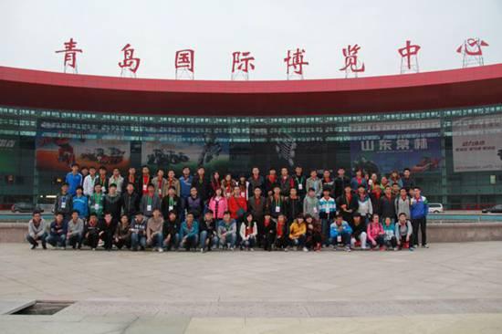 青岛农业大学机电工程学院志愿者服务国际农机博览会