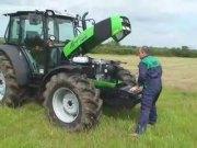 初次驾驶道依茨Agrofarmer100拖拉机