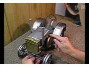 巨NB的1936 John Deere拖拉机模型